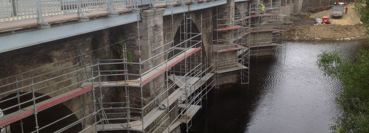 The refurbishment of the Roman Bridge in Lugo implied the use of a high-precision scanner laser for the structure