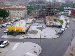 Urbanización do Polígono SUP-7 en Santiago de Compostela (A Coruña)