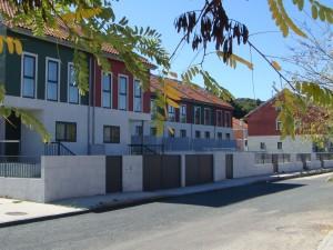 Construção de casas geminadas em Allariz (Ourense)