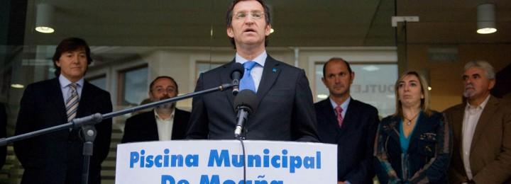 La localidad de Moaña cuenta desde 2009 con la piscina municipal de referencia de O Morrazo
