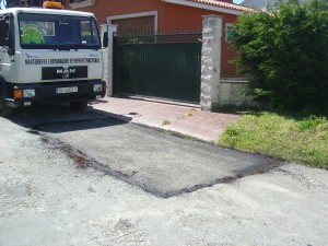 Misturas repairs jobs on the Ferrol road network