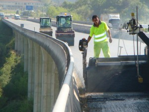 Road Surface Restoration of the A-52 Highway in Orense