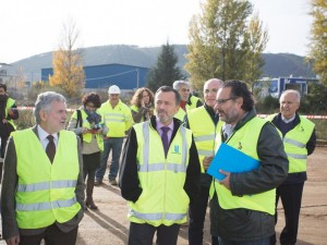 Misturas is developing an area of more than 70,000 m2 in order to expand the industrial area in Verín