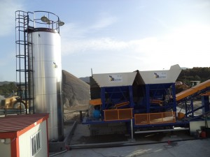 Misturas sets in motion a manufacturing plant of cold mix asphalt