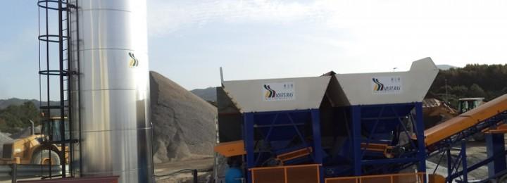 Misturas pone en marcha una planta de fabricación de aglomerado en frío