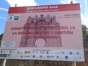 Expertos de Misturas analisam as utilidades do georradar no congresso Rehabend 2016