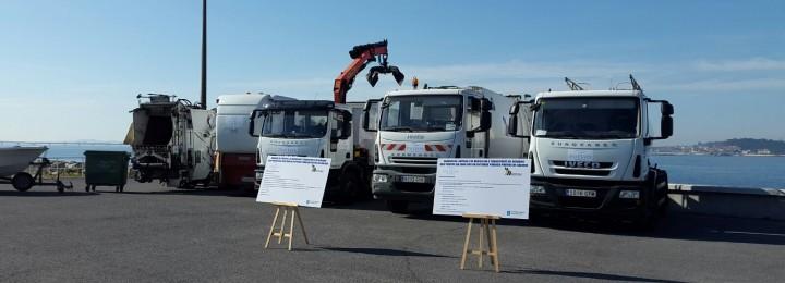 Adjudicado a Misturas el servicio de limpieza, transporte y gestión de residuos de los puertos del Sur de Galicia