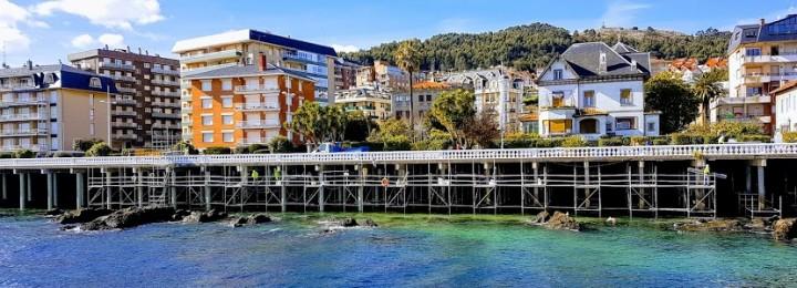 Terminado o reforço dos pilares no Passeio Marítimo de Castro Urdiales