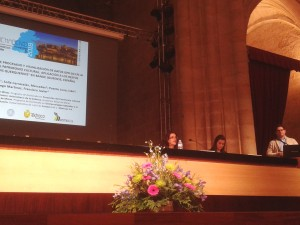Misturas technicians share at an international forum their experience in the use of GPR in an archeological project