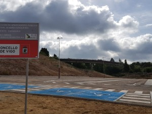 The parking lot of the Alvaro Cunqueiro Hospital built by Misturas has been inaugurated