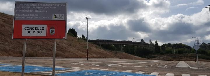 Inaugurado o estacionamento do Hospital Álvaro Cunqueiro de Vigo construído por Misturas