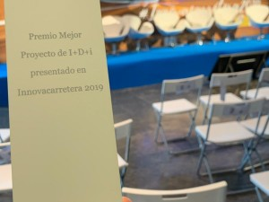 A study with the participation of Misturas received an award at Innovacarretera fair