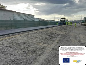 Misturas completes the EMULCELL project with the construction of a test-prototype section that includes experimental asphalt